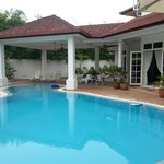 Lovely pool @Rumah Putih B&B