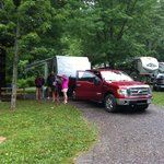 Lots of room. Awesome campground!!