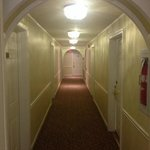 photo doesnt do justice to the bright hallway and historic feel of the hotel