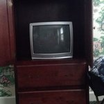 this is the tv you get for 260.00 a night and it only has 8 channels!