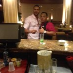 "With the best bar tender ""Shacalaka"""