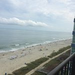 Best western Carolinian 10th floor ocean view.