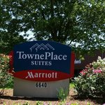 Entrance sign of TOWNPLACE SUITES