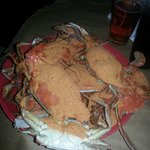 Great for crabs n good service  ... nothing else :/