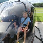 a very young pilot ...