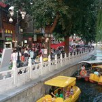 Lotus Lane - Crowded tourist attraction