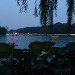 View from one of the restaurants by the lake