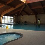 Resort Indoor and Outdoor Swimming Pool