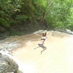 Jumping at Montezuma Falls (15 ft)