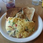 Make your own omelet!