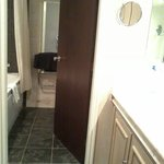 Room 217 wash area  and bathroom andtoilet