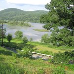 CT River view from front porch