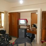 this is bedroom of suite