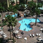 Pools from room