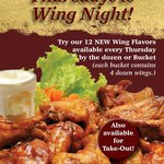 15 Flavors of Wings- Available every Thursday!