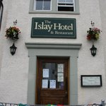 Entrance to The Islay Hotel