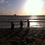 Beach in Bude