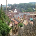 The path from the B&B to old Sarlat