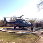 One of the UAC choppers