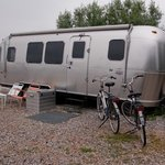 One of the Airstreams
