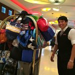 Lucas -- the nicest bellhop in the business!