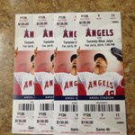 Angel Stadium of Anaheim Foto