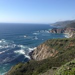 The drive to Big Sur