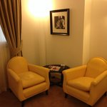The little lounge room in the suite