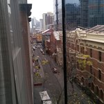 Little Bourke St view