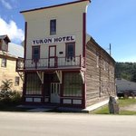 The Yukon Hotel in Dawson City
