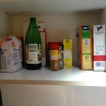 Pleasant things we have fount on kitchen shelves