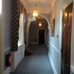 Hallway from reception