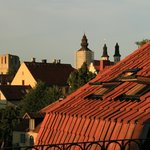 View from the deck, looking into Visby