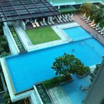 Swimming pool from 11th floor!