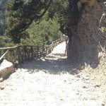 Samaria Gorge National Park Foto