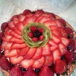 RAW FRUIT PIE AT COCONUT GROVE FARMERS MKT