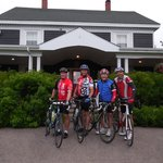 Cabot Trail Cycling - Ceilidh Inn and Finish