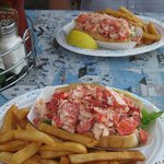 YUM....lobster rolls!!
