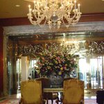 The entryway, to the lobby