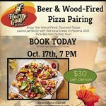 Autumn Beer and Pizza Tastings