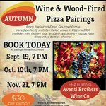 Autumn Wine and Pizza Pairings