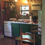 a perfectly appointed little kitchen