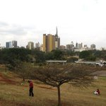 Nairobi City - great view to end the city tour with!