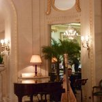 The Harpist entertains...while you enjoy Afternoon Tea in the Palm Court