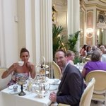 Champagne Afternoon Tea in the 'Palm Court'