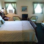 Room 5....great for a romantic weekend. King size bed. Lovely soothing colors.