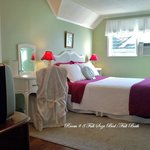 Room 8....Small but sweet. Very colorful & refreshing. Super sunny bright room. Full size bed