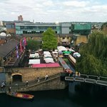 Camden market view from room