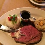 8oz Prime Rib, incredibly delicious!