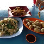 Lunch at Delima Seafood restaurant
